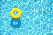 Fi de classes piscina