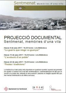 """Col·lecció de documentals """"Sentmenat, històries d'una vil·la"""""""