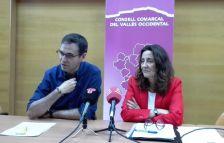 El president del CCVO i la presidenta de la Diputació de Barcelona van explicar els detalls de l'acord signat per tots els ajuntaments de la comarca